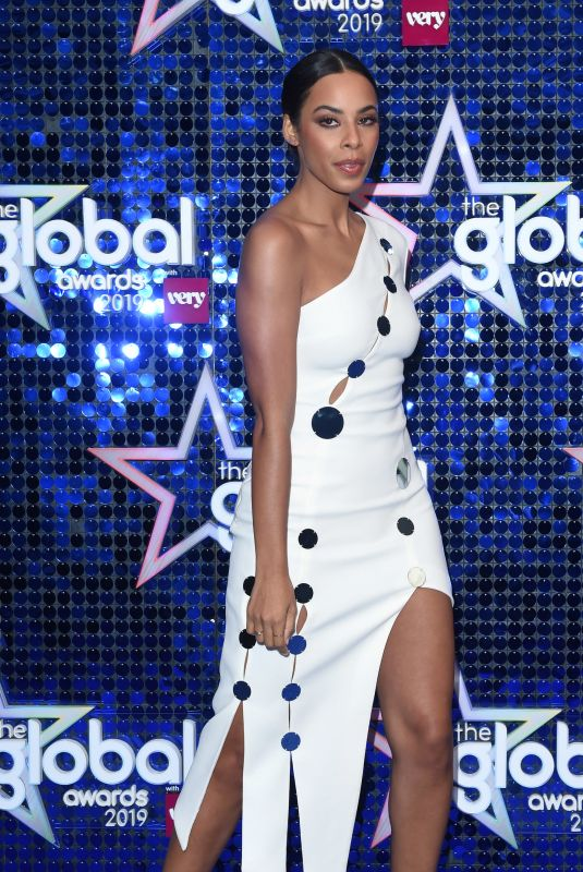 Rochelle Humes At The Global Awards 2019 in London