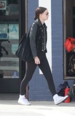 Rooney Mara Out after having lunch with a friend in LA
