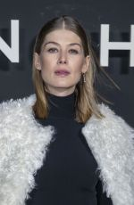 Rosamund Pike At Givenchy show as part of the Paris Fashion Week Womenswear Fall/Winter 2019/2020 in Paris