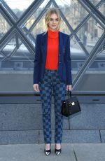 Samara Weaving At the Louis Vuitton show for Paris Fashion Week Womenswear