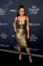 "Sanaa Lathan At CBS All Access series ""The Twilight Zone"" premiere in Hollywood"