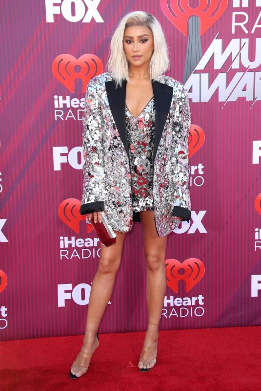 Shay Mitchell At 2019 iHeartRadio Music Awards in LA