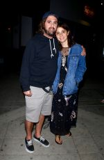 Shiri Appleby At Fairfax restaurant in Hollywood