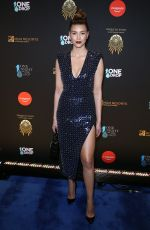 Shiva Safai At 2019 One Night for One Drop blue carpet arrivals at Bellagio Las Vegas