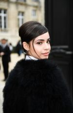 Sofia Carson Outside Elie Saab fashion show - Paris Fashion Week Womenswear Fall