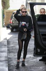 Sofia Richie Leaves the gym in Beverly Hills