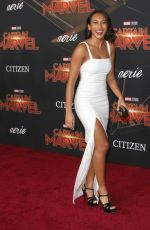 Sydney Park At Captain Marval Premiere in Hollywood