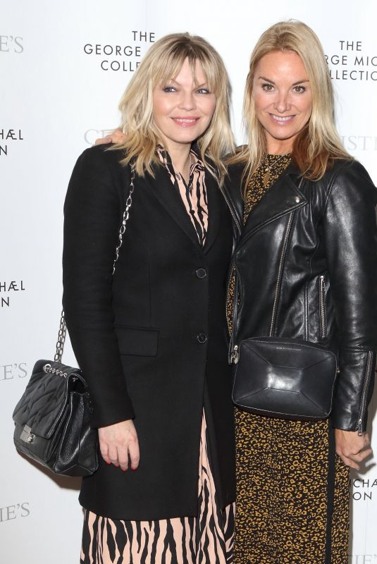 Tamzin Outhwaite At The George Michael Collection VIP Reception, London