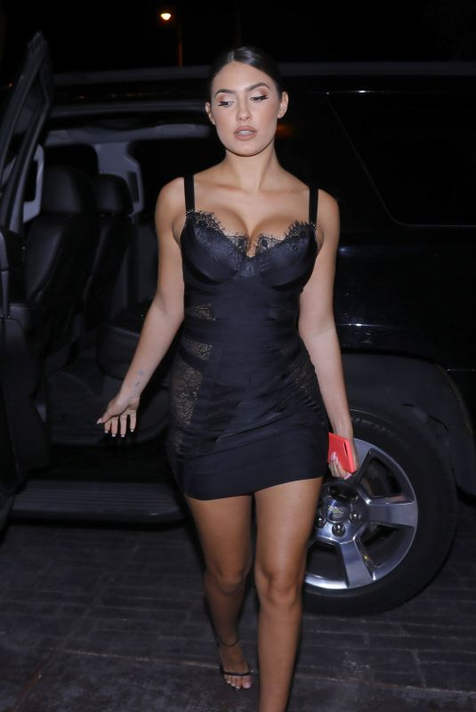 Tao Wickrath Heads out to opening weekend at The Barbershop at the Cosmo hotel in Las Vegas