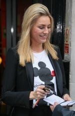 Tess Daly Looks in good spirits as she