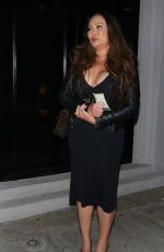 Tia Carrere Out for dinner at celeb hotspot, Craig