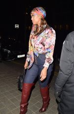 Tyra Banks At the Tommy Hilfiger fashion show in Paris