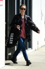 Vanessa Paradis Shopping at Urban Outfitters in Studio City