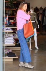 Whitney Port Shopping in Beverly Hills