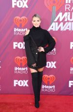 Witney Carson At 2019 iHeartRadio Music Awards in Los Angeles
