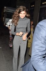 Zendaya After performing at the Tommy Hilfiger fashion show in Paris