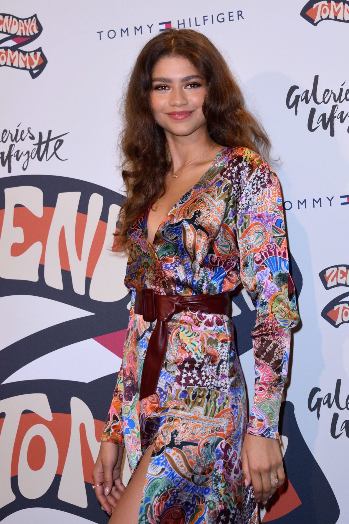 Zendaya At Tommy Hilfiger TOMMYNOW Spring 2019   TommyXZendaya in Paris 33776505dae