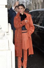Zendaya Out and about in Paris