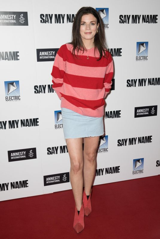 Aisling Bea At Say My Name Gala Screening at Odeon Luxe in London