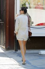 Alessandra Ambrosio Shopping in Brentwood