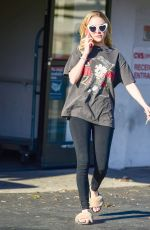 Alessandra Torresani Out and about, Los Angeles