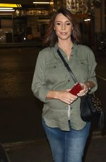 Alex Jones At The BBC One Show in London