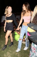 Alexis Ren & Maddie Ziegler At Coachella Valley Music and Arts Festival in Indio