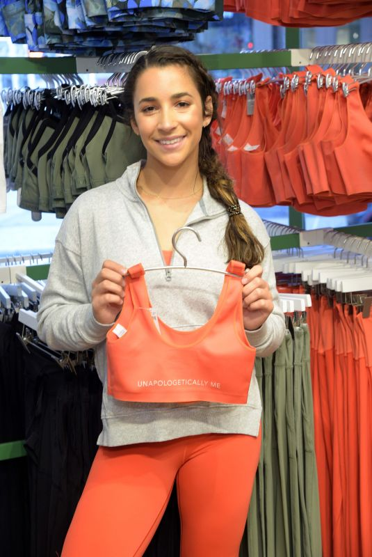 Aly Raisman At Launch of Aerie x Aly Raisman Collection in New York