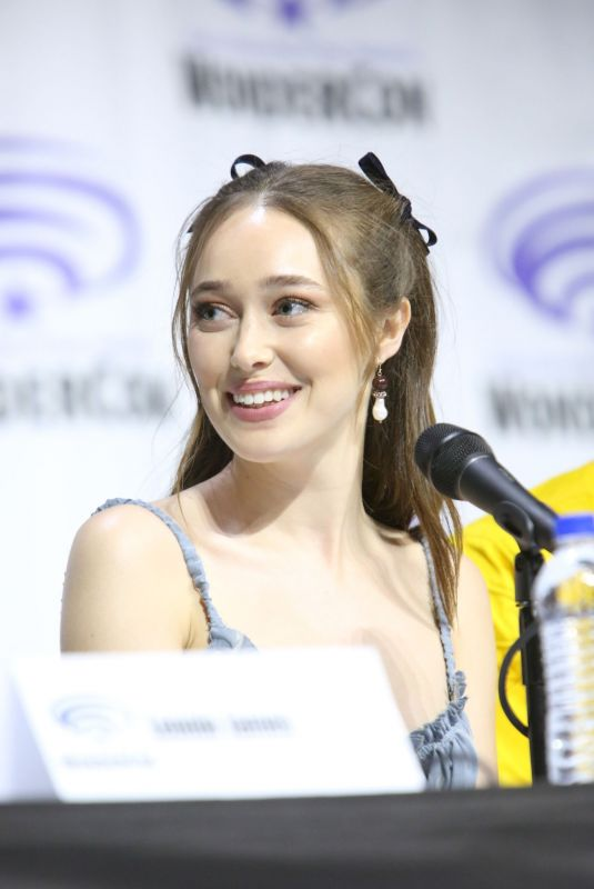 Alycia Debnam-Carey At Fear The Walking Dead Panel at WonderCon in Anaheim
