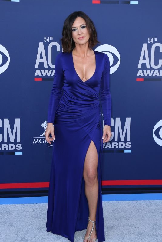 Amanda Shires At 54th Academy of Country Music Awards at MGM Grand Garden Arena in Las Vegas