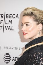 """Amber Heard At """"Gully"""" screening at the 2019 Tribeca Film Festival in NYC"""