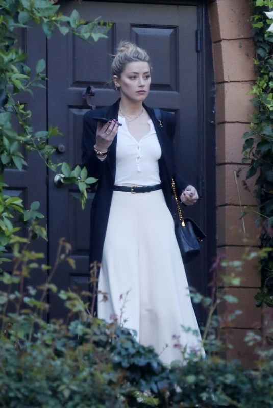 Amber Heard Attending a private event in Los Angeles