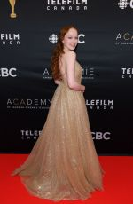 Amybeth Mcnulty At 2019 Canadian Screen Awards Broadcast Gala in Toronto