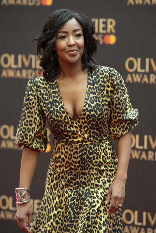 Angellica Bell At The Olivier Awards 2019 with MasterCard at Royal Albert Hall in London