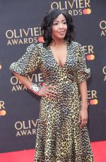 Angellica Bell Attending The Olivier Awards 2019 at The Albert Hall in London