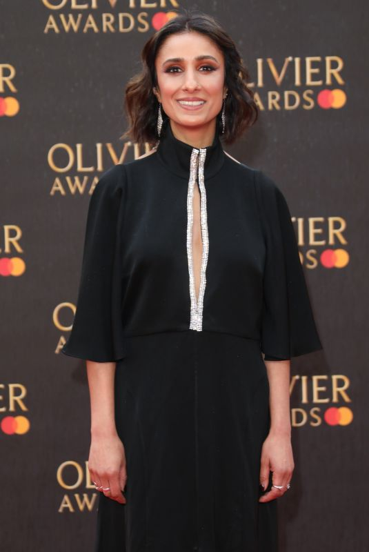 Anita Rani At 2019 Laurence Olivier Awards in London
