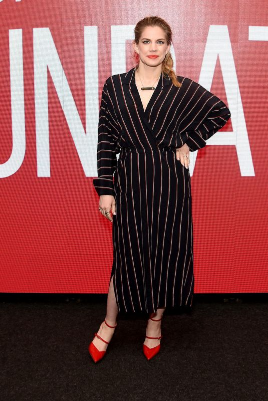 """Anna Chlumsky At SAG-AFTRA Foundation Conversations: """"Veep"""" in NYC"""