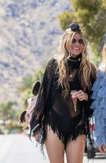 AnnaLynne McCord Out and about During Coachella Festival in Indio