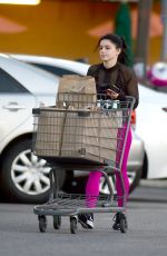 Ariel Winter Shopping at Whole Foods in Los Angeles