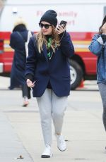 Ashley Benson Out in NYC