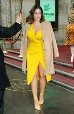Ashley Graham Arriving at the Variety Power of Women luncheon in NYC