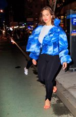 Ashley Graham Leaving The New School in NYC