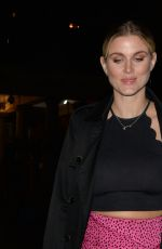 Ashley James Leaving SushiSamba in London