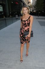 Ashley James Outside the Vivis Launch Party in London