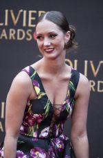 Ashley Shaw At The Olivier Awards 2019 with MasterCard at Royal Albert Hall in London