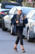 Ashley Tisdale Hiking in Hollywood