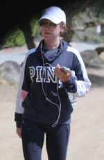 Ashley Tisdale Out for a hike in Los Angeles