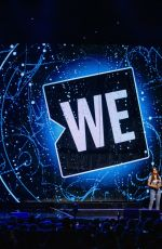 Bailee Madison On Stage For WE Day at The Tacoma Dome in Tacoma, Washington