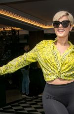 Bebe Rexha Out in Paris, France