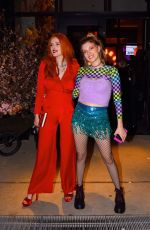 Bella & Dani Thorne Out in NYC